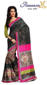 Peecaso Self Design Bhagalpuri Art Silk Sari