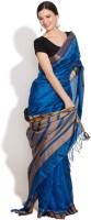 Fabindia Striped Silk Sari