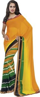 Subhash Sarees Plain Daily Wear Georgette Sari