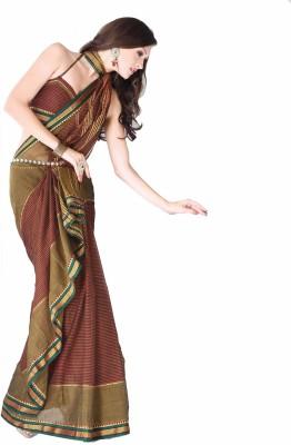 Ishin Printed Cotton Sari available at Flipkart for Rs.853