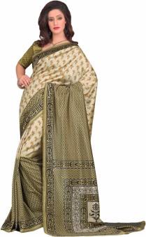 Sunaina Printed Mysore Art Silk Sari