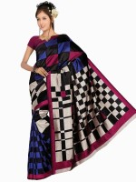Rangmanch Solid Silk Sari
