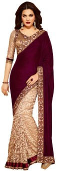 Bollywood Designer Self Design Bollywood Brasso Sari