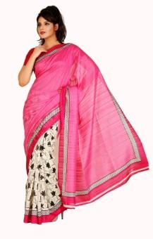 VG Sarees Printed Fashion Art Silk Sari Pack Of 2