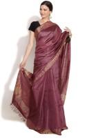Fabindia Solid Silk Sari
