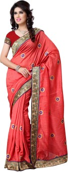 Diva Fashion Self Design Fashion Art Silk Sari