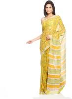 Aapno Rajasthan Floral Print Cotton Sari - SARDVX3YJPAGYYRK