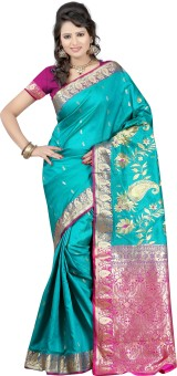 Anushree Saree Self Design Fashion Chanderi Sari