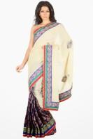 Sareez Solid Cotton Sari