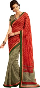 Roop Kashish Printed Fashion Cotton, Silk Sari