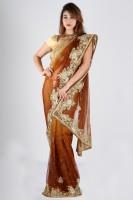 Bhavish Printed Net Sari