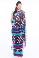 Delhi Seven Printed Georgette Sari