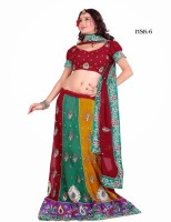 Attire Printed Georgette Sari