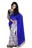 Saree Sansar Embriodered Bollywood Georgette Sari