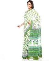 Aapno Rajasthan Floral Print Cotton Sari - SARDVX3YZRHHSZM5