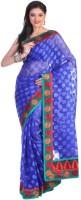 Sareez Printed Net Sari