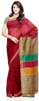 Dealtz Fashion Solid Cotton, Art Silk Sari
