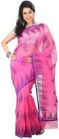 Fashionista Printed Embellished Cotton Sari