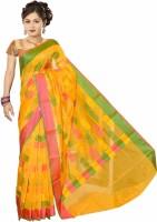 Vandana Fashion Floral Print Cotton Sari