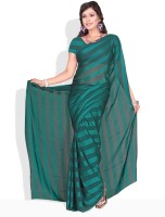 Florence Solid Synthetic Sari