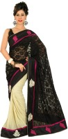 Chirag Sarees Self Design Embroidered Embellished Cotton Sari - SARDWMQFGMVC3ZZG