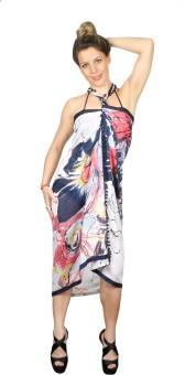 Iracc Floral Print Women's Sarong - SNGE7QHNGQVVXVMS