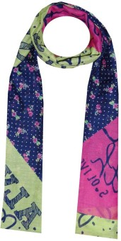 Dream Fashion Printed Poly Cotton Women's Stole