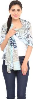 J Style Printed Cotton Women's Scarf - SCFE8HPXR4BHF3J2