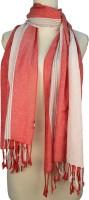 Vozaf Striped Viscose, Cotton Women's Scarf