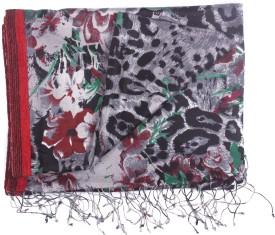 Semantika Geometric Print Silk Blend Women's Scarf