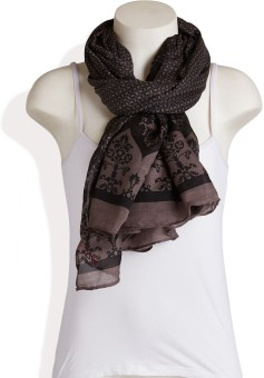 Red Lorry Printed Polyester Women's Scarf