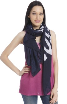Only Striped 100%Polyester Women's Scarf - SCFEKUCA7Q8P78WG
