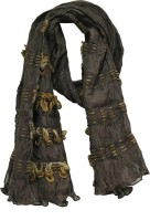 Anekaant Solid Polyester Women's Scarf