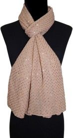 BOLLYWOOD ACCESSORY Embellished Georgette Girl's Scarf