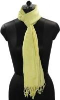 Tiekart Solid 50% Linen, 50% Cotton Women's Scarf