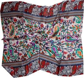 Dream Fashion Printed Pure Tabby Silk Women's Stole