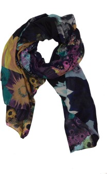 FashBlush Graphic Print Poly Cotton Women's Scarf
