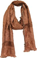 Anekaant Stripes Polyester Women's Scarf