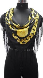 PromotionalClub Printed 100% Polyester Women's Scarf
