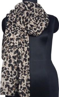 Anuze Fashions Animal Print Viscose Women's Scarf