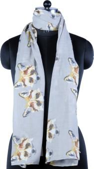 Pert Fashion Printed Poly-Cotton Women's Scarf
