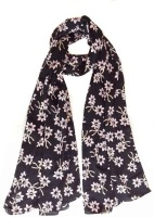 Hi Look Floral Poly Cotton Women's Scarf