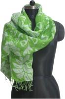Jayram Handloom Floral Print Linen Women's Scarf