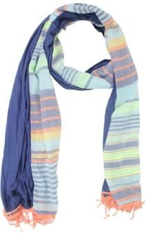 Belleziya Striped Polyester Women's Scarf