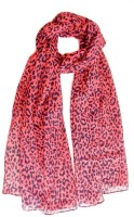 Hi Look Animal Print Poly Cotton Women's Scarf