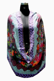 Selfiwear Graphic Print Pc.Cotton Women's Scarf