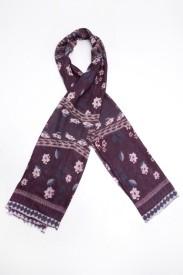 Toscee Printed 70%Wool 30% Silk Women's Scarf