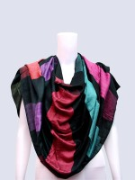 Rangmanch Solid Silk Women's Scarf