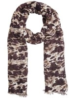 Knot Me Animal Print Viscose Women's Scarf