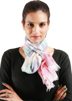 Jaipur Vogue Striped Viscose Women's Scarf